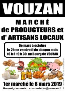 Marché de producteurs @ Le bourg